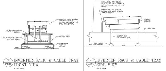 Solar-Inverter-Tray-Details